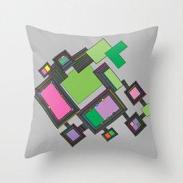 Venezia Panels Throw Pillow