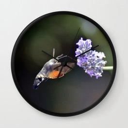 Saveur Lavande Wall Clock