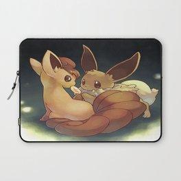 Eevee and Vulpix Laptop Sleeve