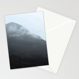 In the crouching mountains Stationery Cards