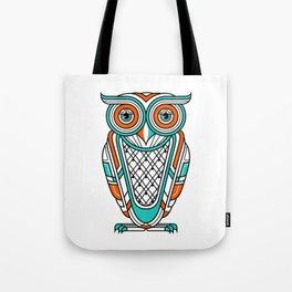 Art Deco Owl Tote Bag