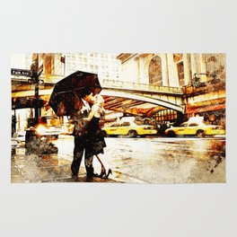 Love in the Rain (Loving the Rain) Rug