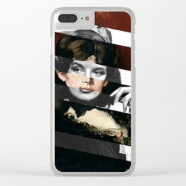 Manet's Portrait of Berthe Morisot & Katharine Hepburn Clear iPhone Case