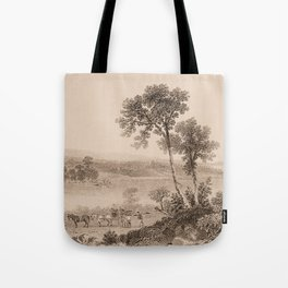 Lake Champlain 1850 (sepia) Tote Bag