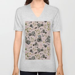 Don't stop to smell the roses Unisex V-Neck