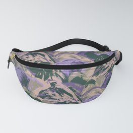 Painted Triangles II Fanny Pack