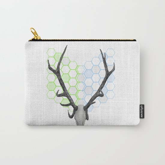 Stag Skull Carry-All Pouch