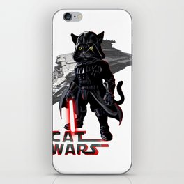 Cat Darth Vader  iPhone Skin