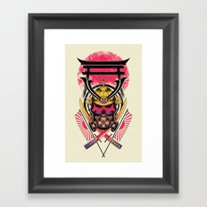 Torii Guardian Framed Art Print