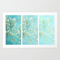 Vincent Van Gogh Almond Blossoms  Panel arT Art Print