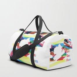 Super Mario Marker Duffle Bag