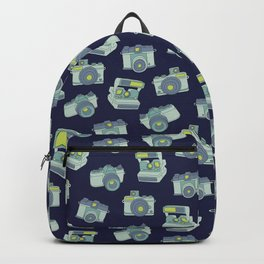 Vintage Cameras Pattern Backpack