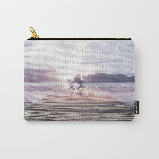 Drifting Thoughts Carry-All Pouch
