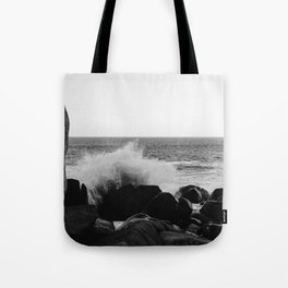 Monochrome Mexico Tote Bag