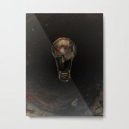 bulb Metal Print