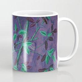 Aubergine & Teal Chinoiserie Coffee Mug