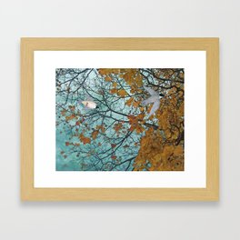 autumn afternoon Framed Art Print