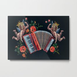 Accordion Limited Edition Selling Out Fast Metal Print