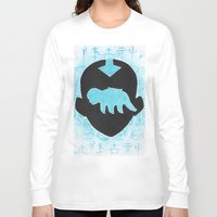 the last airbender Long Sleeve T-shirts featuring The Last Airbender by Carmen McCormick