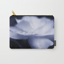 Sweet a beautiful Gardenia flower with water droplets Carry-All Pouch