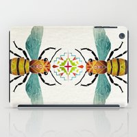 bee iPad Cases featuring bee by Manoou