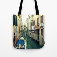 venice Tote Bags featuring Venice by Mr and Mrs Quirynen