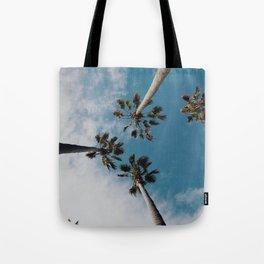 Palm Tree Summer Fun Tote Bag
