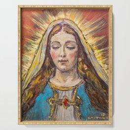 Beata Virgen Maria Serving Tray
