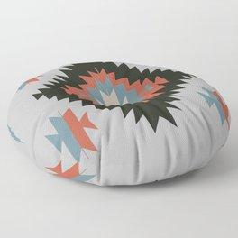Southwestern Santa Fe Tribal Indian Pattern Floor Pillow