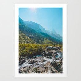 Cascade Creek, Grand Teton National Park Art Print