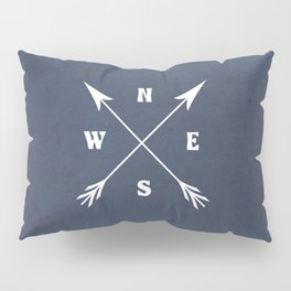 Compass arrows Pillow Sham