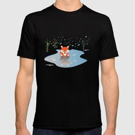 Little Fox On Ice T-shirt
