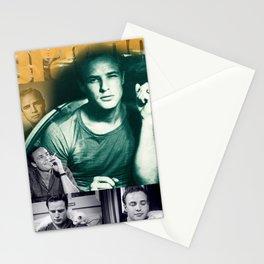 Marlon Brando Collage Portrait 2 Stationery Cards