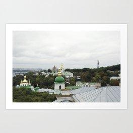 Kiev, Ukraine Art Print