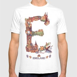 E is for England T-shirt