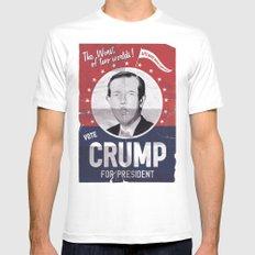 CRUMP ! Mens Fitted Tee White MEDIUM
