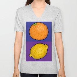 Citrus Fruits Unisex V-Neck