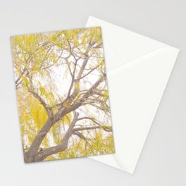 The Yellow Tree II Stationery Cards