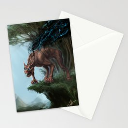 Nano-Beast Stationery Cards