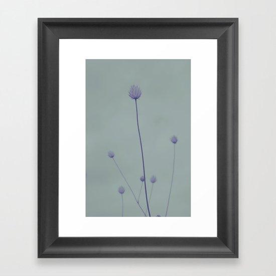 Simplicity 2 Framed Art Print