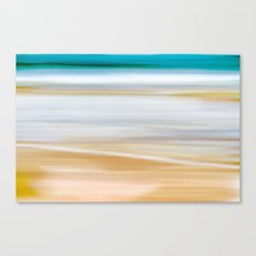Abstract Beachscape Canvas Print