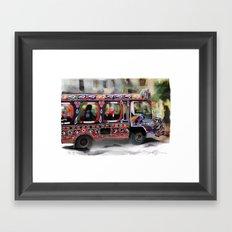 The Magic Bus Framed Art Print