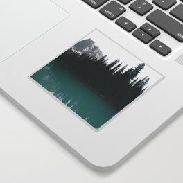 Emerald Lake Sticker
