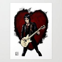 Joan Jett & the Black Hearts Art Print