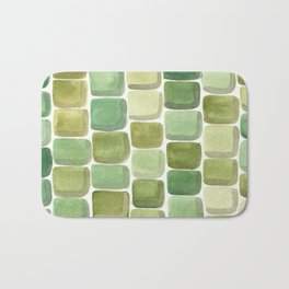 #59. UNTITLED (Summer) - Stones Bath Mat