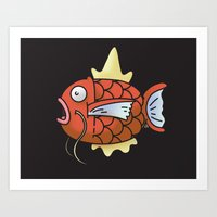 A magic Karp... Art Print