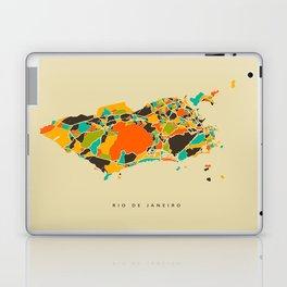 Rio map Laptop & iPad Skin