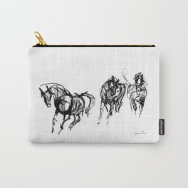 Horses (Trio) Carry-All Pouch