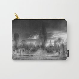 Ghostly Kensal Green Cemetery London Carry-All Pouch