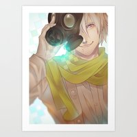 dramatical murder Art Prints featuring DRAMAtical Murder: Clear by magemg